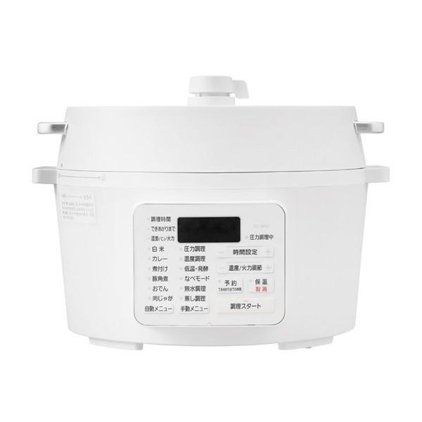 アイリスオーヤマ PC-MA4-W ホワイト [電気圧力鍋...