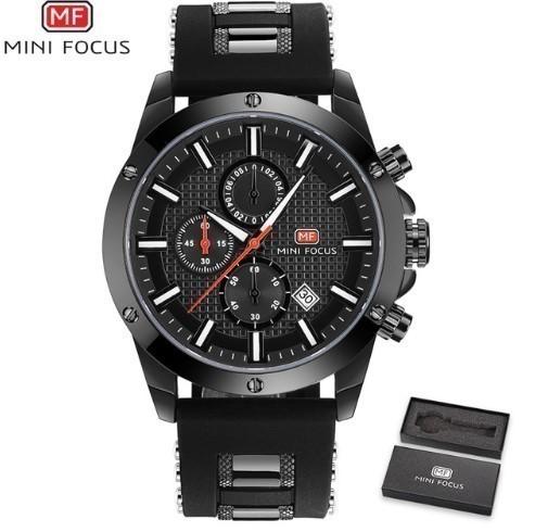 MINIFOCUS メンズ腕時計 海外高級ブランド ミリタ...