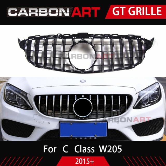 メルセデス C クラス W205 GT R GTR フロントバン...