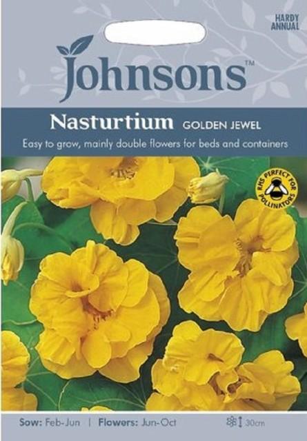 【輸入種子】Johnsons Seeds Nasturtium GOLDEN J...