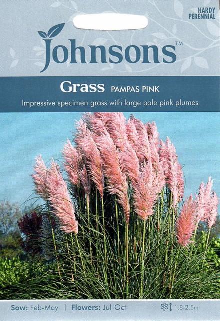 【輸入種子】Johnsons Seeds Grass Pampas Pink ...