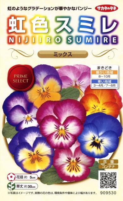 【種子】虹色スミレ ミックス サカタのタネ