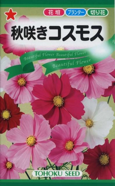 【種子】秋咲きコスモス トーホクのタネ