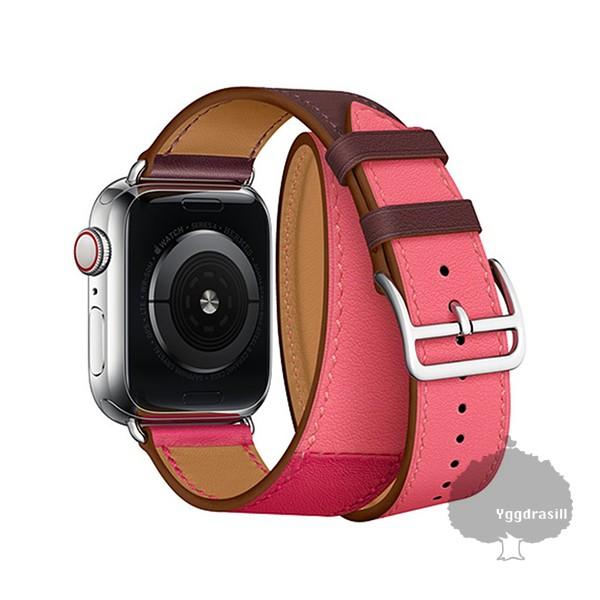 Apple Watch専用 38mm/40mm 42mm/44mm 二重 二連 ...