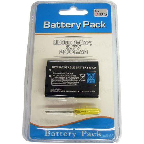 Nintendo ニンテンドー 3DS 交換 電池 バッテリー...