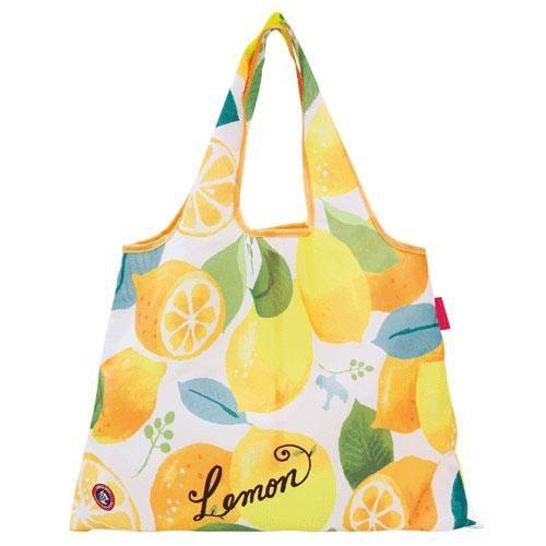 2WAYエコバッグ Lemon DESIGNERS JAPAN レモン