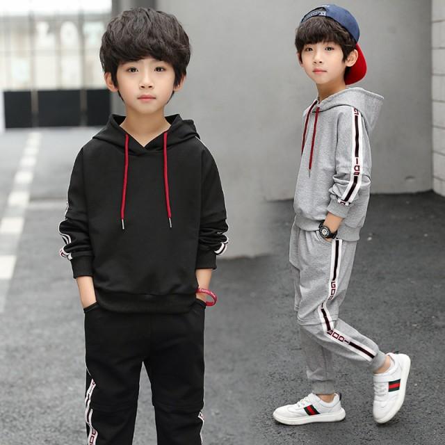 韓国子供服 男の子 キッズ ジャージ 衣装 セット...