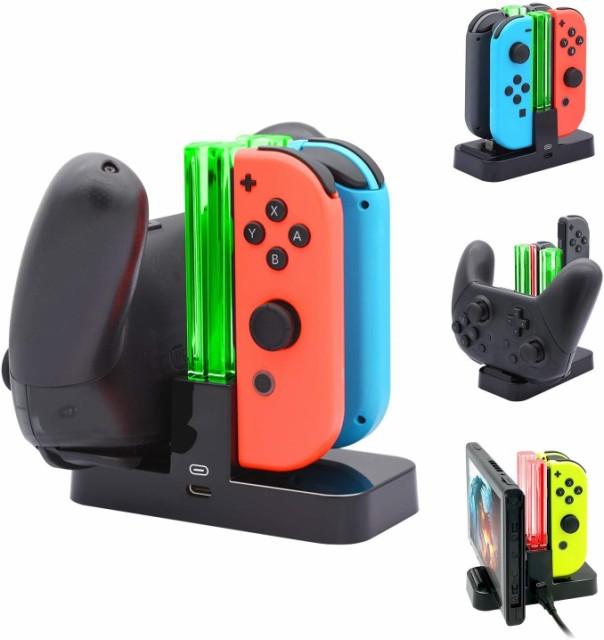 Nintendo Switch Joy-Con Pro コントローラー 充...