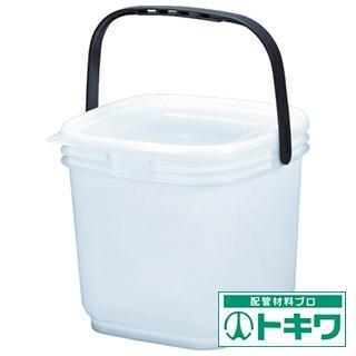 TRUSCO 角型密閉バケツ 3L 蓋付き ナ...
