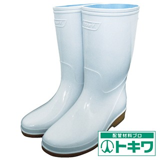 日進 耐滑衛生長靴 26.0cm V4000ZW-26.0 ...