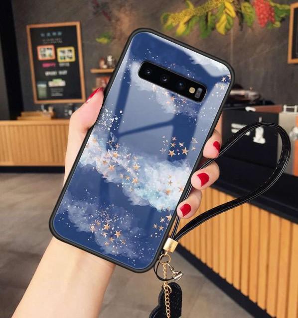 送料無料 Galaxy S10 S9 S8 Note8 ガラスケース ...