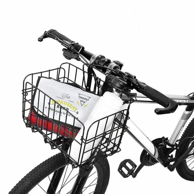 自転車かご 脱着式 バスケット 前かご 後ろかご ...