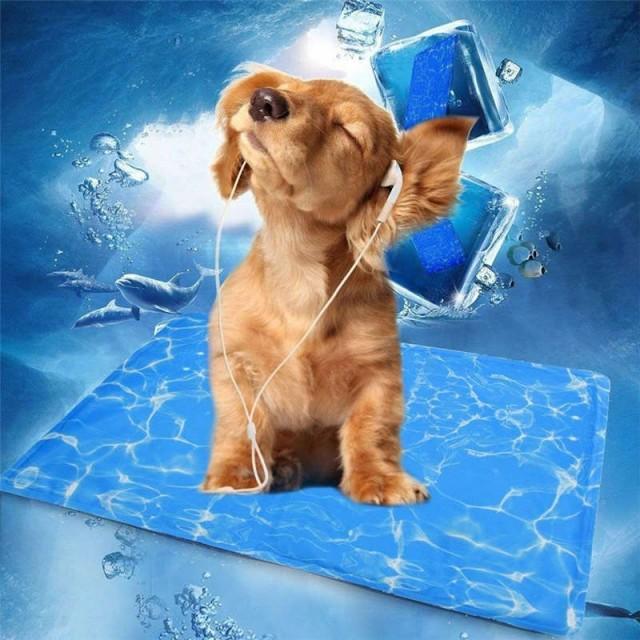 送料無料 ひんやりシート クールマット 涼感冷感マット 冷却ジェルシート 熱中症暑さ対策 冷却マット ペット 犬 猫 夏ペット用品