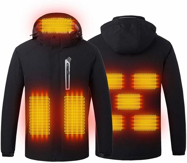 電熱ジャケット 2020年最新 USB 加熱 ジャケット ...