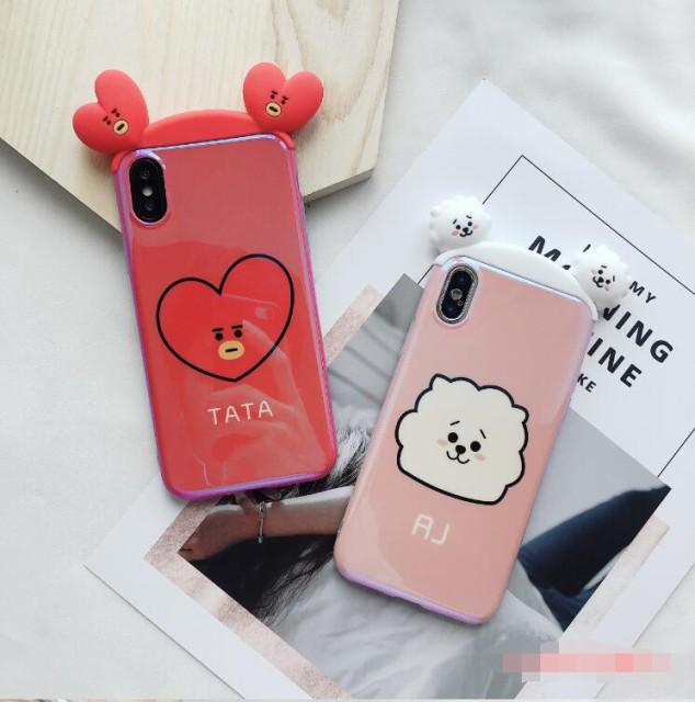 韓国かわいい 防弾少年団BTS iPhone X ケース BTS...