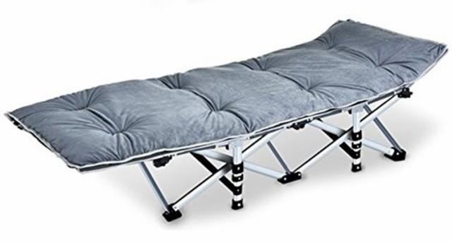 折りたたみベッド 耐荷重300kg 組立不要 収納袋付...