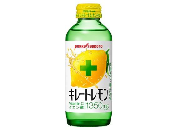 ポッカサッポロ/キレートレモン 155mlビン/GX92