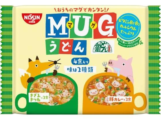 日清食品/日清マグうどん 4食入/1808