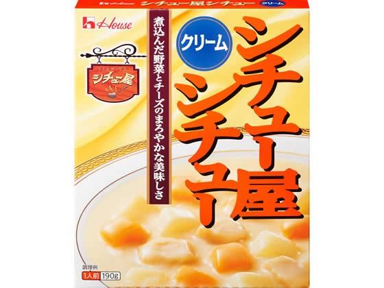 ハウス食品/シチュー屋シチュー クリーム 190g