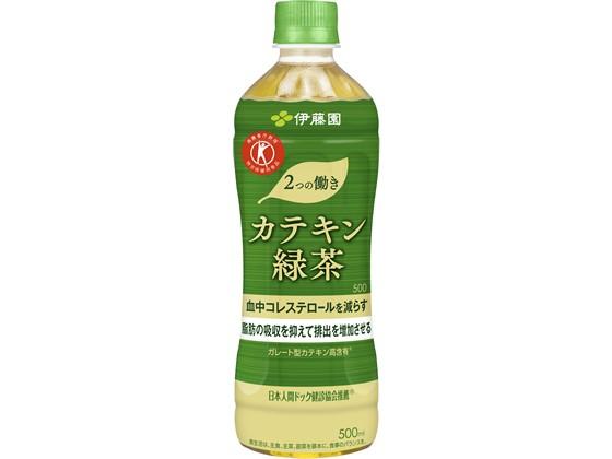伊藤園/2つの働き カテキン緑茶 500ml