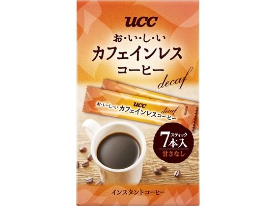 UCC/おいしいカフェインレスコーヒースティック7P...