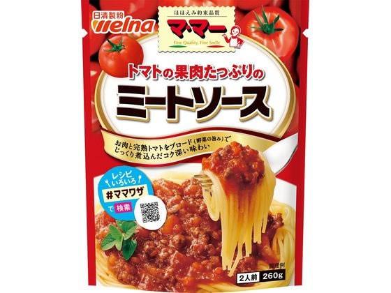 日清フーズ/マ・マー トマトの果肉たっぷりのミー...