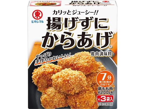 ヒガシマル醤油/揚げずにからあげ 鶏肉調味料 15g...