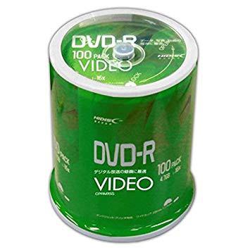 HIDISC CPRM対応 録画用DVD-R 16倍速対応 100枚 ...