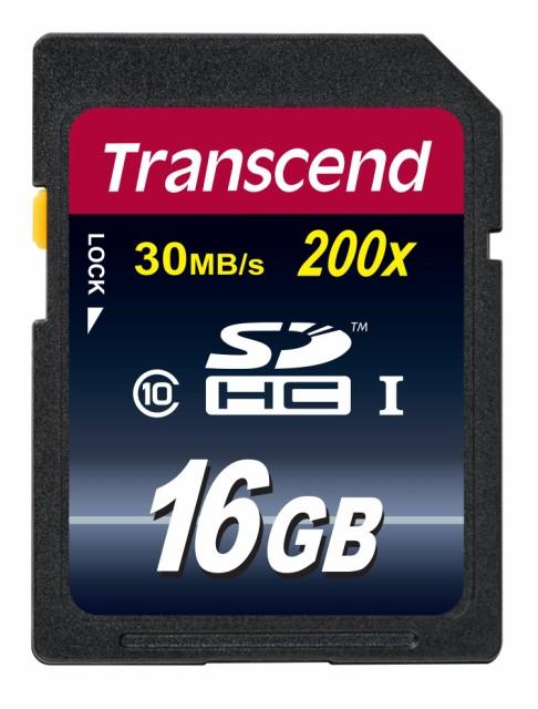 トランセンド(Transcend) 16GB SDHCカード CLASS1...