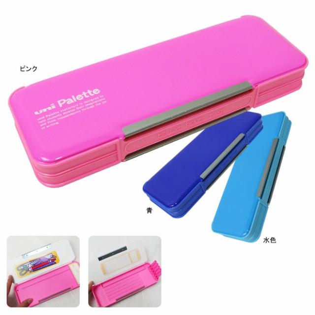 三菱鉛筆 ユニパレット uni Palette ペンケース<両面・筆箱・筆入れ> P-1000BT 3色展開[jitsu17