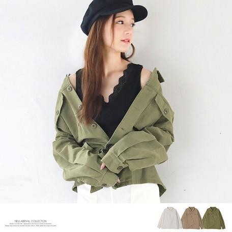 オーバーサイズシャツ ミリタリージャケット レディース ミリタリーコート ライトアウター コート ミリタリーシャツ ブルゾン ミリタリー