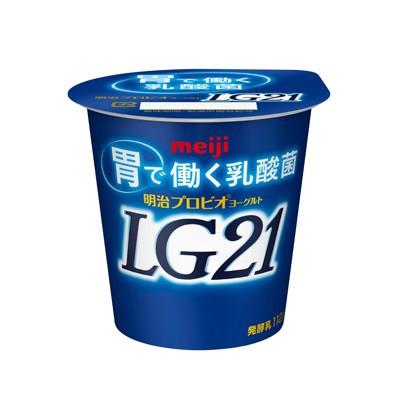 明治 プロビオヨーグルトLG21 112g 24個 【送料無...
