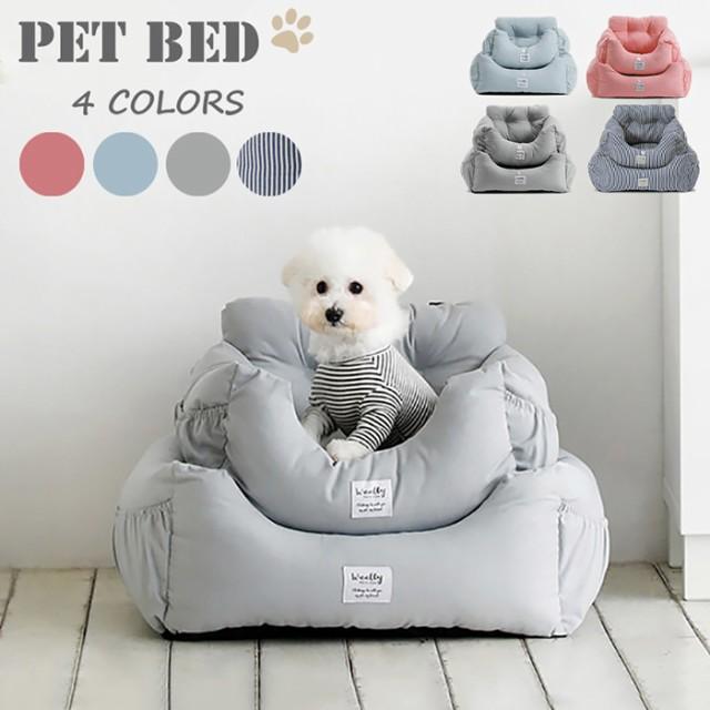 車載 ペットベッド ベッドソファー 小型犬 猫 2wa...