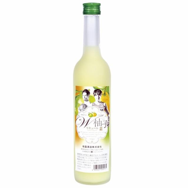 越乃柏露 W柚子(ダブルゆず)500ml 柏露酒造 ...