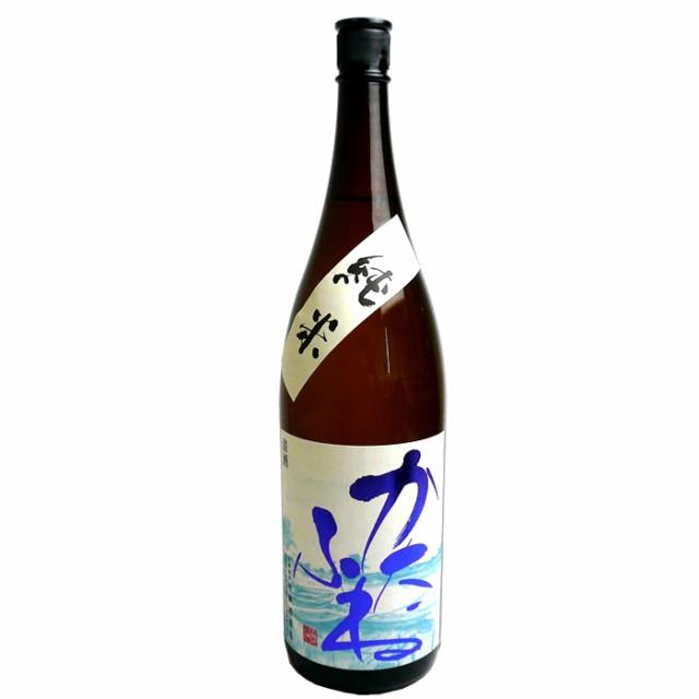 [蔵元直送]越乃潟舟(かたふね)純米酒 1.8L 竹...