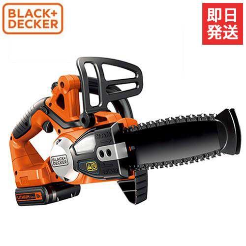 ブラック&デッカー 充電式チェーンソー GKC1820L2...