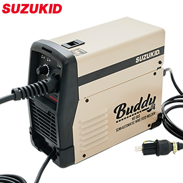 スズキッド インバーター半自動溶接機 Buddy80 SB...