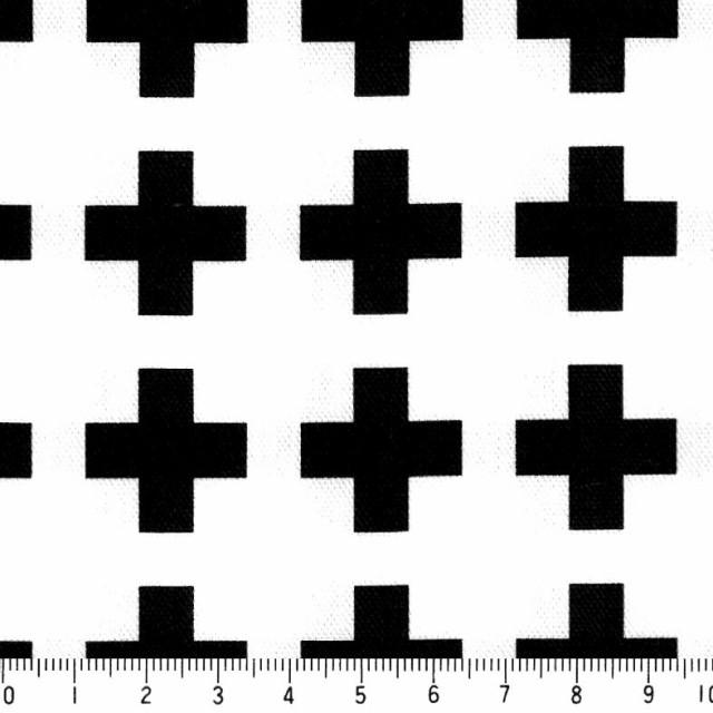 選べる 十字クロス柄 クロ  オックス  cr03-99 BL...