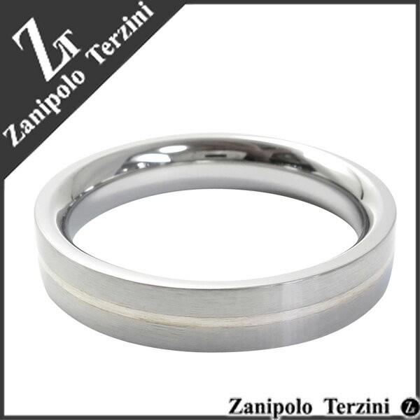 シンプルラインステンレスリング15〜23号【Zanipo...