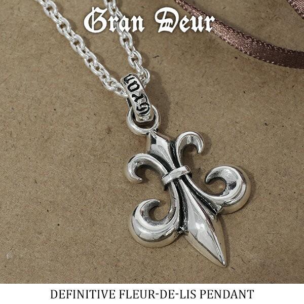 【GRAN DEUR】 フルール・ド・リス シルバー ペン...