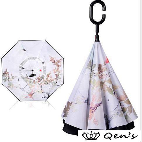 傘 逆さ傘 晴雨兼用 メンズ 長傘 レディース 折れない おしゃれ UVカット 遮光 逆さま傘 逆さまの傘 逆向き かわいい 自立 男女兼用 さか