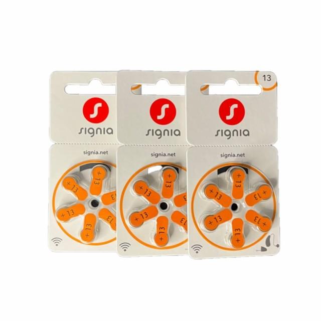 シバントス シグニア PR48 (13) 補聴器電池 オレ...