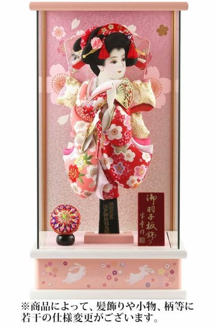 羽子板 ケース飾り 撫子姫(金襴)羽子板 パノラ...