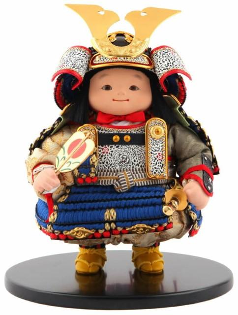 五月人形 幸一光 松崎人形 子供大将飾り 人形単品...