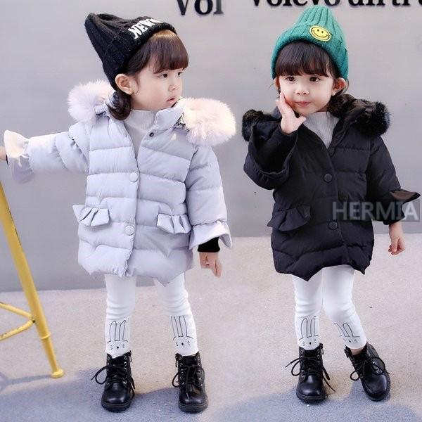 f8fa80b0d4d0e ベビー服 子供服 ダウンコート 赤ちゃん コート 中綿ジャケット 防寒 保温 アウターウエア 女の子 男の子 フード