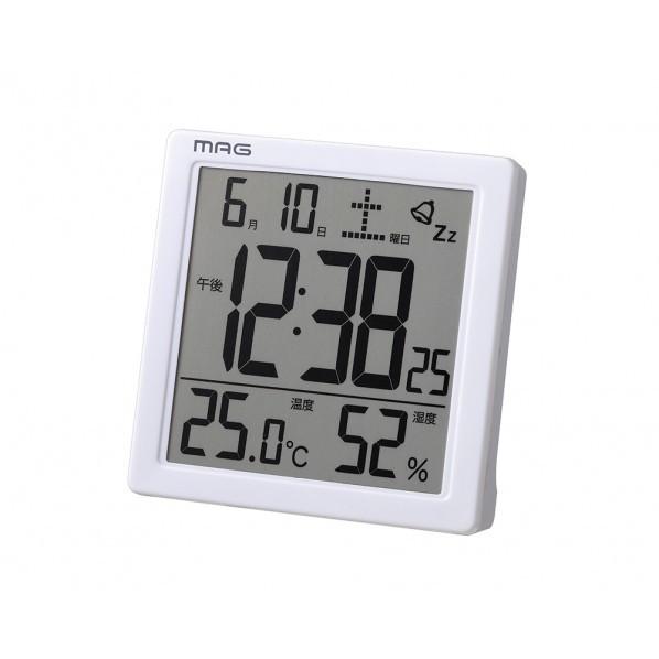 ノア精密 目覚まし時計 カッシーニ 温湿度計付き ...