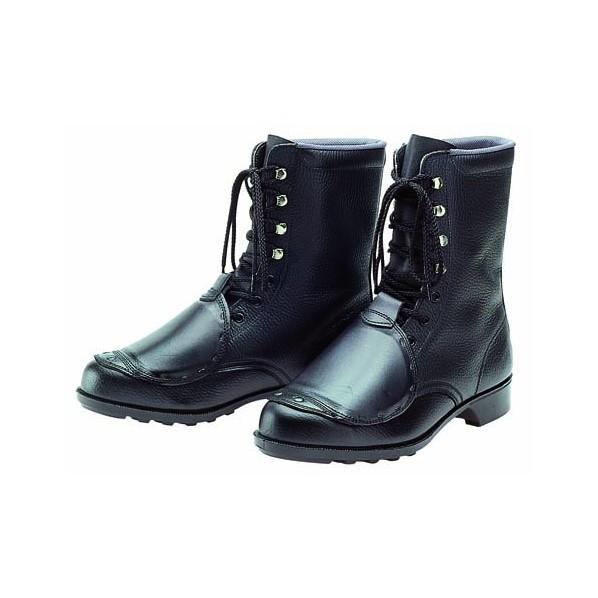 ドンケル 甲プロ付安全靴(長編上ブーツ)ラバー1層...