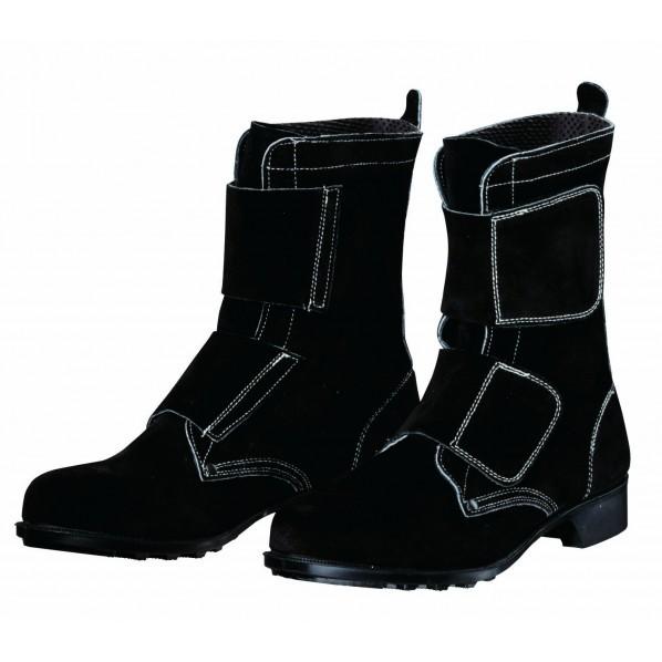 ドンケル マジック式耐熱・熔接用安全靴 ブラック...