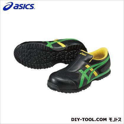 アシックス 作業用靴 ウィンジョブ36S 9084ブラッ...