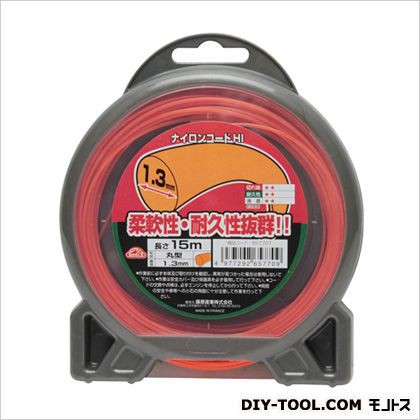 セフティ3 ナイロンコードHI ○型 1.3MMX15M セ...